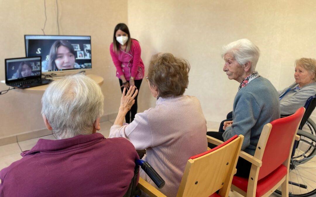 Contatti-Distanti, un ponte intergenerazionale tra Rsa e studenti