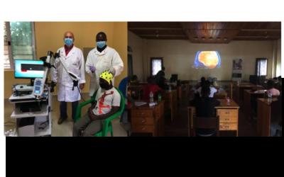 Epilessia in Africa: Sin dona  video elettroencefalografo
