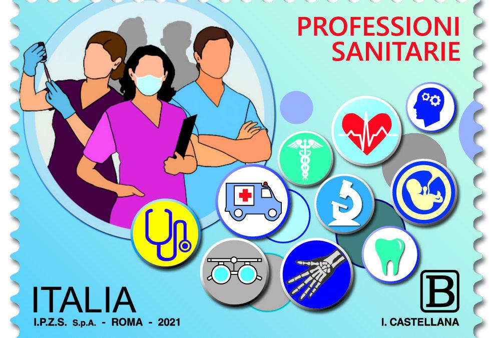 FNOPI, un francobollo per ringraziare le professioni sanitarie