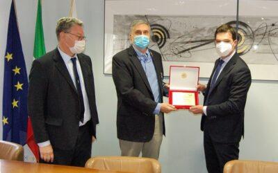 Marche: Picchio d'oro al prof. Silvestri