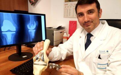 Protesi del ginocchio in titanio… fatta con la stampante 3D